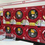 写真:コインランドリー(WASHハウス)の乾燥機